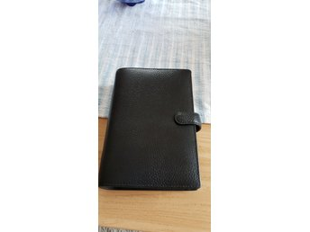 Filofax personal real leather