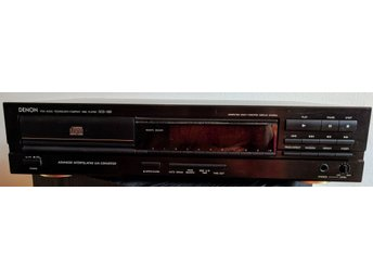 DENON, PCM AUDIO TECHNOLOGY/COMPACT DISC PLAYER DCD-680
