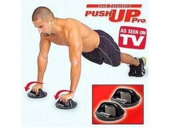 NY! Push Up Pro Rotating Grips Features at a glance på TV!