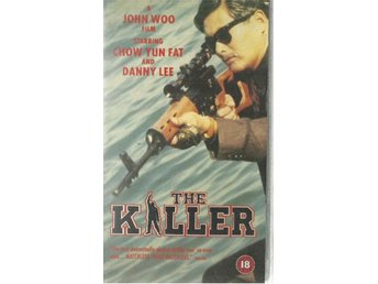 The killer - John Woo/Chow Yun Fat - Ej text - Vhs