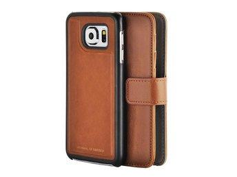 Magneto Vintage - Samsung Galaxy S6 - Leather Brown - Umeå - Magneto Vintage - Samsung Galaxy S6 - Leather Brown - Umeå