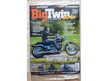 "BIG TWIN NR 7/8 2016 - ""HANS TRIMMADE SOFTAIL"" / ny / oläst ex."
