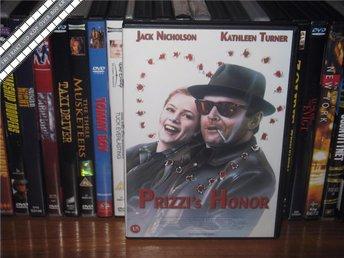 PRIZZIS HONOR - Jack Nicholson, Kathleen Turner *UTGÅNGEN DVD* - Svensk text - åmål - PRIZZIS HONOR - Jack Nicholson, Kathleen Turner *UTGÅNGEN DVD* - Svensk text - åmål