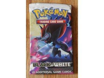 Booster pack - Pokemon Black & White - Trading card game - 10 kort
