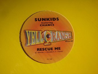 "SUNKIDS feat. CHANCE - RESCUE ME 12"" ELECTRONIC 1998"