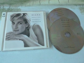 DIANA, TRIBUTE,  CD-SKIVA, CD