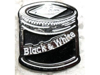Pin - Whiskey - Black & White