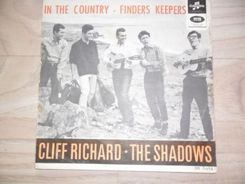 "CLIFF RICHARD / SHADOWS - IN THE COUNTRY / FINDERS KEEPERS               ""NORSK"""
