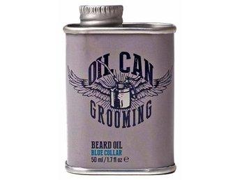 Oil Can Grooming Blue Collar Beard Oil 50ml - Mölndal - Oil Can Grooming Blue Collar Beard Oil 50ml - Mölndal