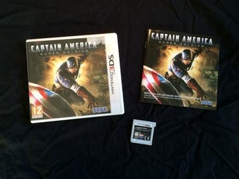 CAPTAIN AMERICA SUPER SOLDIER  NINTENDO 3DS SEGA
