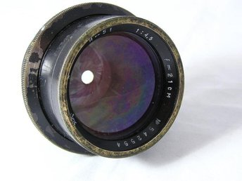 INDUSTAR 51 F=21cm 1:4,5 Big Format Camera Lens I-51