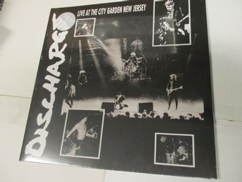Discharge (LP) - Live At The City Garden New Jersey - Ospelad!