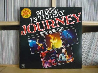 JOURNEY 'Wheel In The Sky' 1980 German 12""