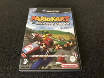 Mario Kart Double Dash - Gamecube- Svensk Version KANONSKICK