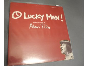 O Lucky Man Alan Price LP