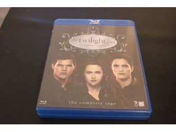 Bluray-box: The Twilight Saga - The complete collection (5 discar)