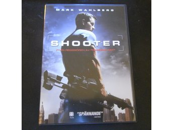 DVD film SHOOTER Mark Wahlberg ACTION thriller BRA SKICK!