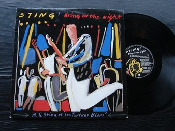 STING - Bring on the night  A&M  Tyskland -82  DLP