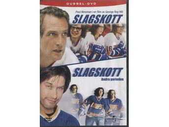 Slap Shot / Slap Shot 2 - 2 Disc - OOP - DVD - Paul Newman, Stephen Baldwin - Bålsta - Slap Shot / Slap Shot 2 - 2 Disc - OOP - DVD - Paul Newman, Stephen Baldwin - Bålsta