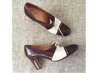 Retro vintage skor stl 39 - Mariestad - Retro vintage skor stl 39 - Mariestad