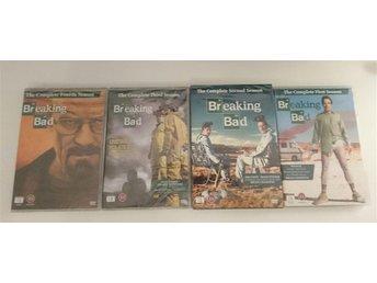 Breaking Bad säsong 1-4, dvd - Stockholm - Breaking Bad säsong 1-4, dvd - Stockholm