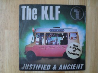 "The KLF - Justified & Ancient 7"" singel"