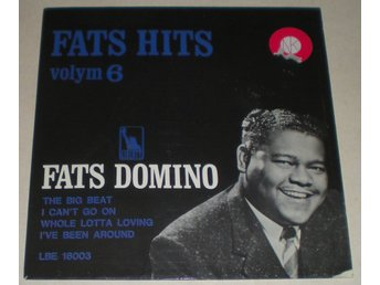 Fats Domino OMSLAG EP Volym 6