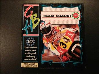 Team Suzuki till AMIGA - Komplett med manual i box! Racing - Torslanda - Team Suzuki till AMIGA - Komplett med manual i box! Racing - Torslanda