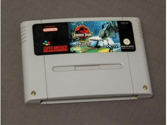 Jurassic Park part 2 - The Chaos Continues SNES Super Nintendo