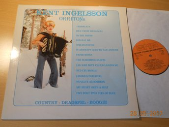 KENT INGELSSON - ORIITONS Country Dragspel Boogie LP GMP-Production 1979 Junsele