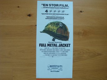 FULL METAL JACKET 30x70 1987 Stanley Kubrick