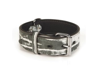 Beeztees Hundhalsband Safari läder 40 mm 32-40,5 cm 745906