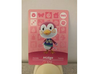 Animal Crossing Amiibo Welcome Amiibo card nr 065 Midge