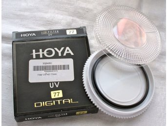Hoya filter UV-HD 77mm, nytt i box. Toppklass!