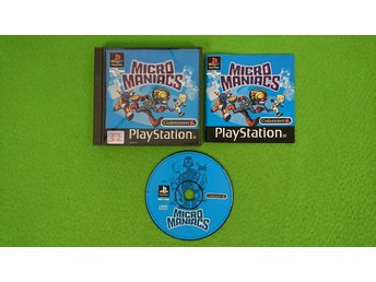 Micro Maniacs KOMPLETT Playstation 1 PSone ps1