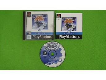 Sled Storm Playstation 1 PSone ps1