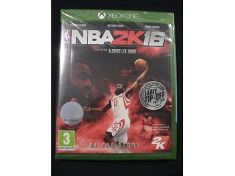 NBA 2K16 EARLY TIP-OFF EDITION / XBOX ONE / NYTT & INPLASTAT