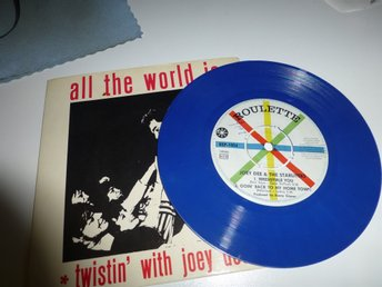 EP på vinyl - Joey Dee & the Starliters - All The World Is Twistin' With Joey De