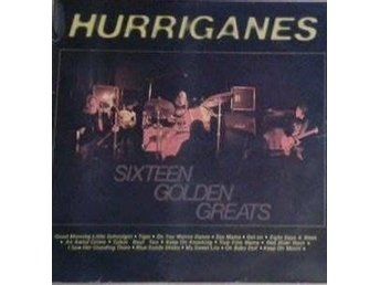artist*  Hurriganes ‎  titel*  Sixteen Golden Greats* LP Comp.