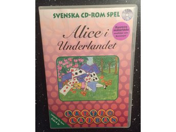 Alice i underlandet - Lattjo lajban - PC CD-Rom