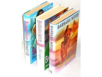 3 Böcker: Marimis gåva & Kvinnor i vitt & Sierskan : Wood Barbara - Hok - 3 Böcker: Marimis gåva & Kvinnor i vitt & Sierskan : Wood Barbara - Hok