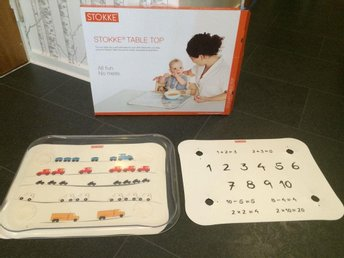 STOKKE Tripp trapp Table top Matbricka. (Nypris 469kr)