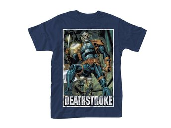DC COMICS DEATHSTROKE UNMASKED T-Shirt - Large