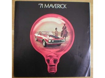 Broschyr Ford Maverick 1971 i storformat