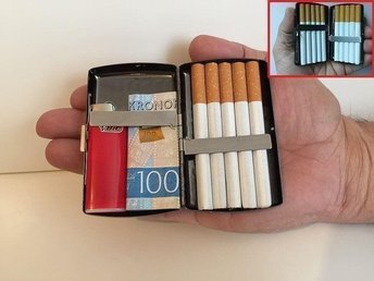 Cigarett Etui Mini (Cigarettetui tobak cigaretter röka rökning ask tobaksask)