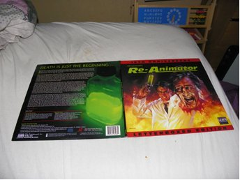 Re animator - Letterboxed edition 10th Anniversary - 1st Laserdisc
