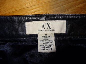 leather trausers st 34-36 by Armani Exchange
