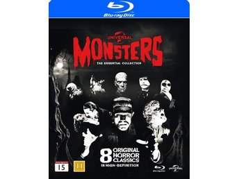 Monsters Blu-ray collection (8 Blu-ray)