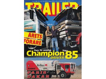 Trailer 1985-5 Road Train Australien..Rally Paris-Dakar