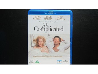 Blu-Ray Its Complicated (Meryl Streep, Steve Martin, Alec Baldwin) - Täby - Blu-Ray It's Complicated (Meryl Streep, Steve Martin, Alec Baldwin) - Täby